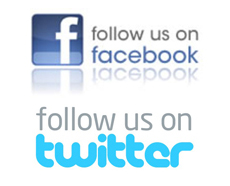 Follow us on Facebook and Twitter for our latest updates