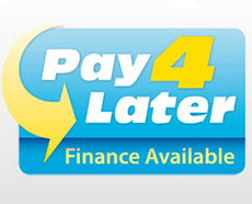 Pay4Later finance available on various products