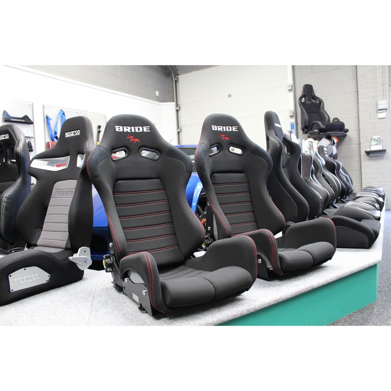 Bride Seats Gias Ii Sport Low Max Reclining Sport Seat And
