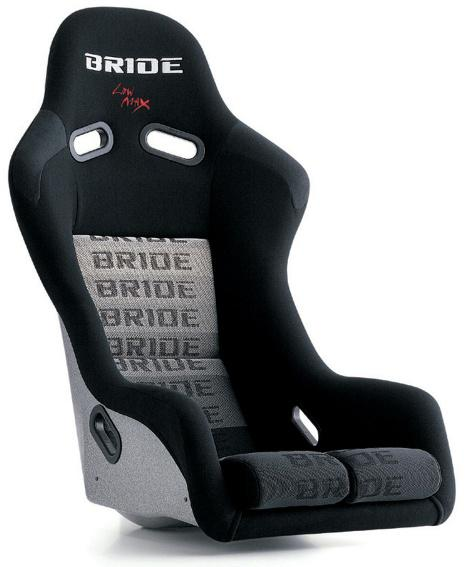 Bride Seats Vios Iii Low Max Bucket Seat And Seat Rail Set