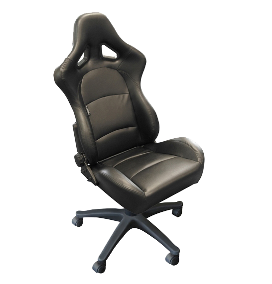 Auto Style Type BS2  racing office sport seat in black