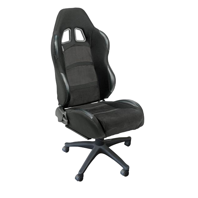 Auto Style Type K4 racing office sport seat in black and grey trim