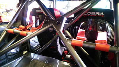 Cobra Sebring Motorsport seats in this Mini R56