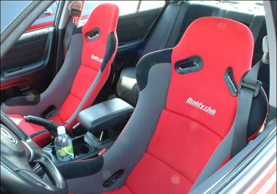 Buddy Club Racing Spec seats fitted