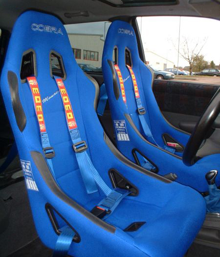 Steel Frame Motorsport Seats