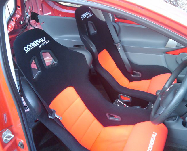 Corbeau Sprint Bucket Seats Fitted