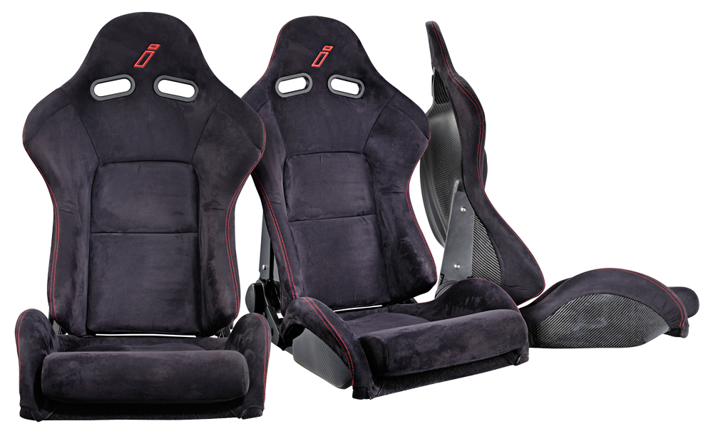 Drift Carbon reclining sport seats