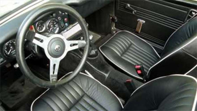 Classic Seats fitted into your MG Midget!