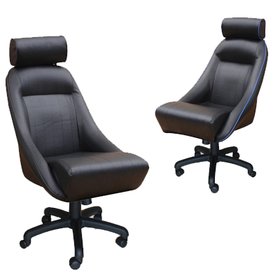 Classic and Retro styled office racing chairs from Corbeau, Cobra and Mamba