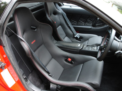 Recaro road racing bucket seats including ABE
