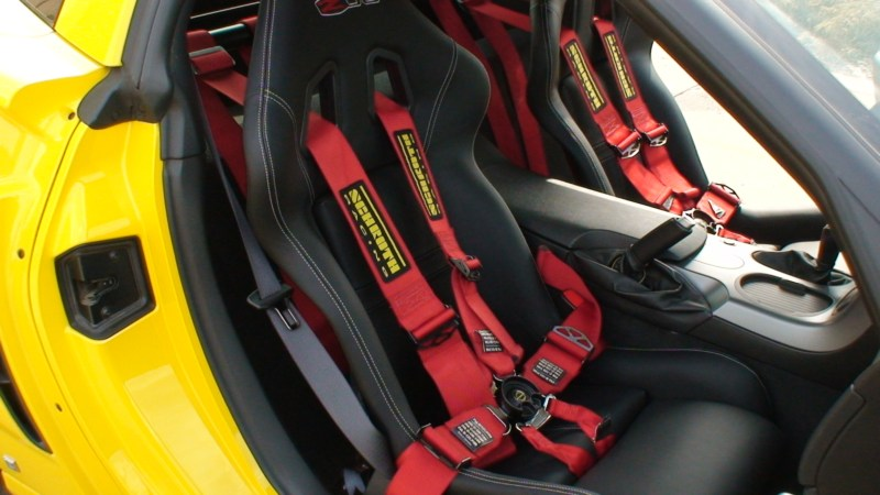 Schroth harnesses, motorsport harnesses, and HANS harnesses
