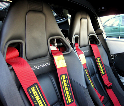 Schroth Lotus harness belts. Racing harnesses and safety devices