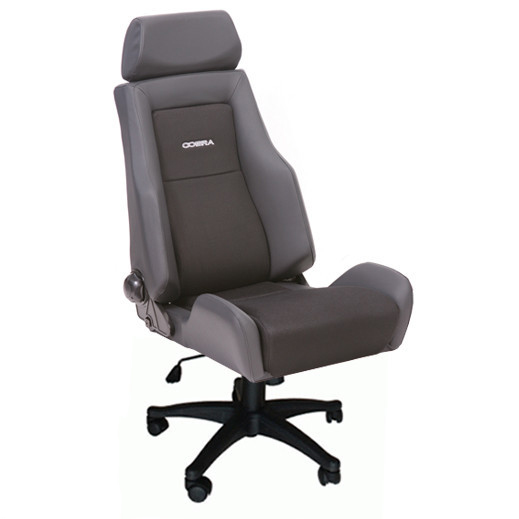 cobra le mans reclining office sport seat gsm sport seats. Black Bedroom Furniture Sets. Home Design Ideas