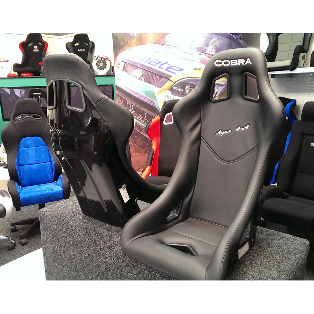 cobra aqua 4x4 vinyl grp fia motorsport bucket seat gsm sport seats. Black Bedroom Furniture Sets. Home Design Ideas