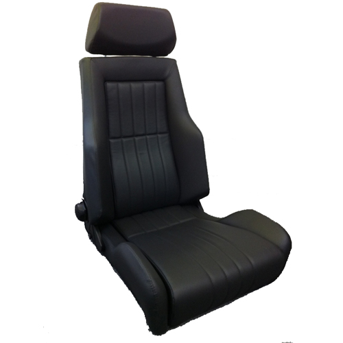 cobra le mans heritage reclining sport seat gsm sport seats. Black Bedroom Furniture Sets. Home Design Ideas