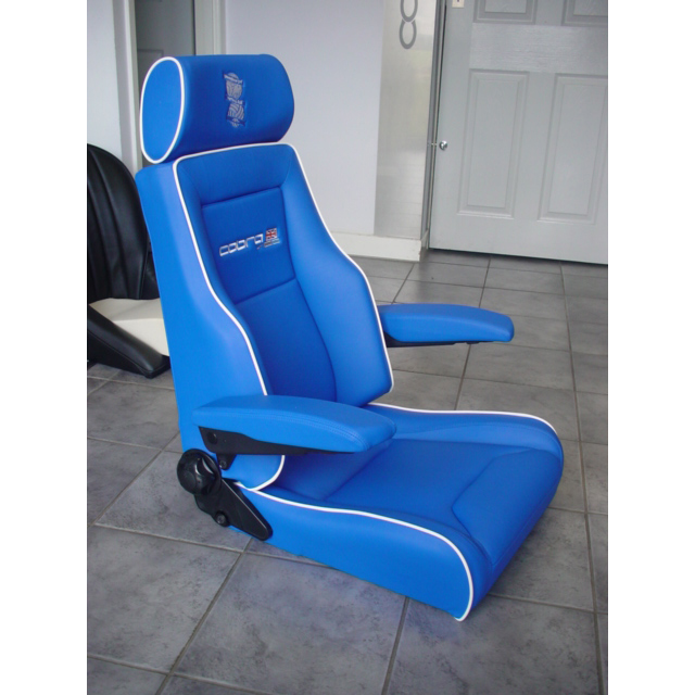 cobra le mans sport seat with armrests gsm sport seats. Black Bedroom Furniture Sets. Home Design Ideas