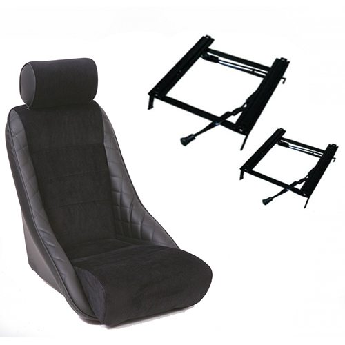 Cobra Alpine bucket seat with classic mini frames