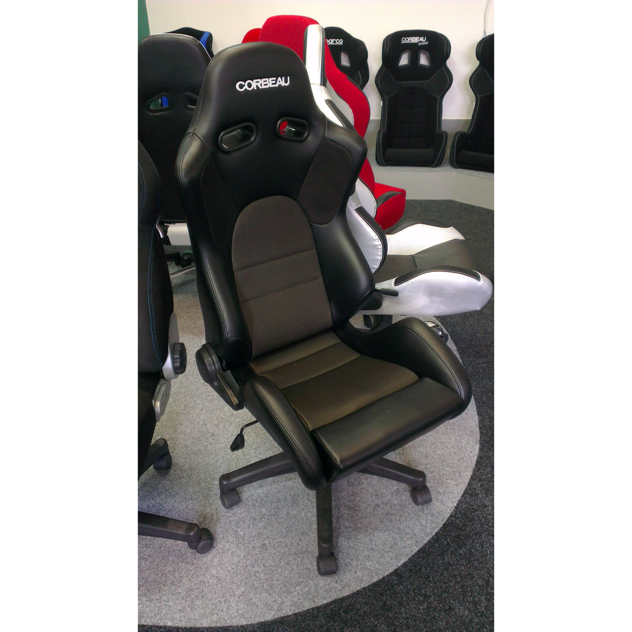 Corbeau Sportline Rs1 Office Sports Seat Gsm Sport Seats