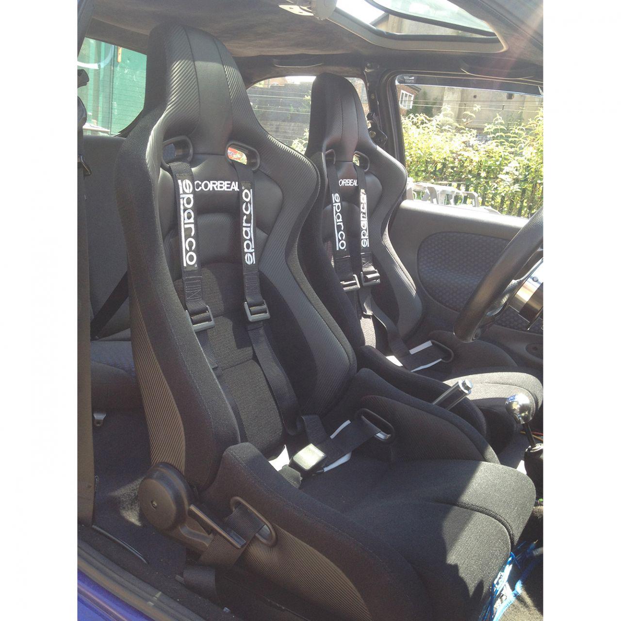 Corbeau Sportline Rrb Reclining Sport Seat Gsm Sport Seats