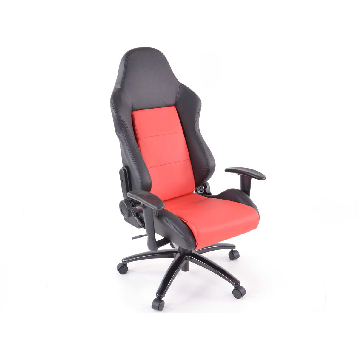 fk automotive race director black red racing office chair