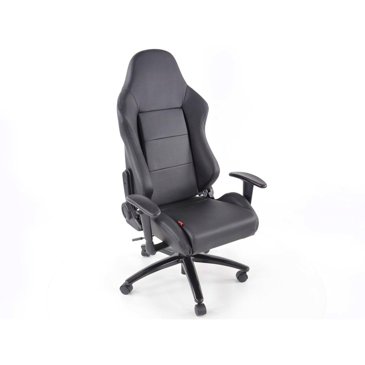 FK Automotive Race Director Black Racing Office Chair GSM Sport Seats