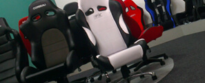 Corbeau, Cobra and Sparco racing office chairs