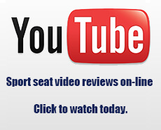 YouTube video reviews are now on-line for all our Motorsport seats