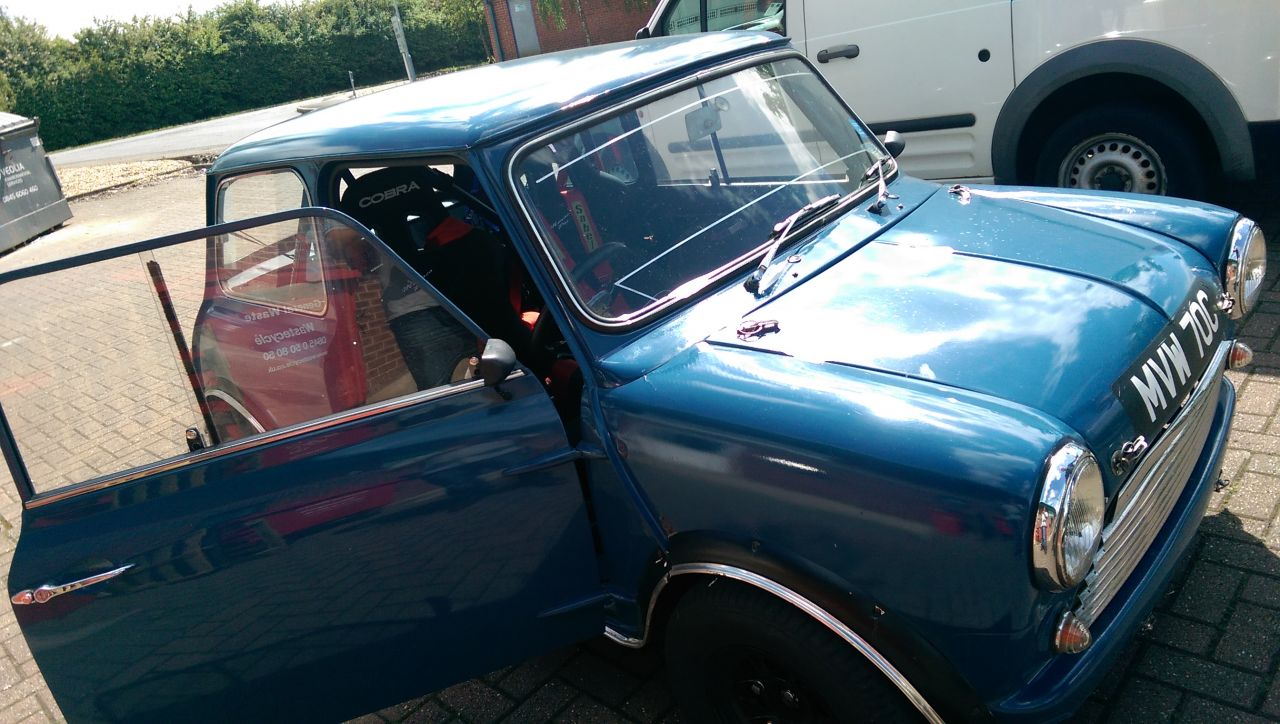 Mr Fletcher's Classic Mini