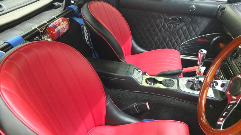 Cobra Roadster Sr Historic Classic Bucket Seat Gsm Sport