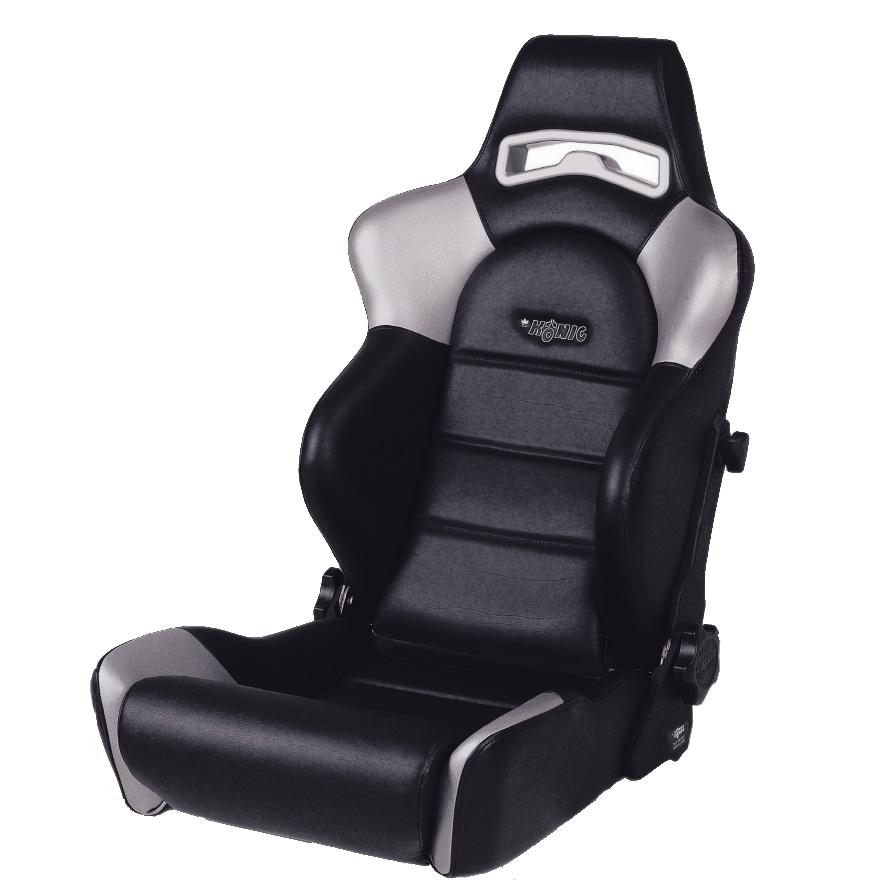 Konig K5000 G4 Reclining Sport Seat - GSM Sport Seats