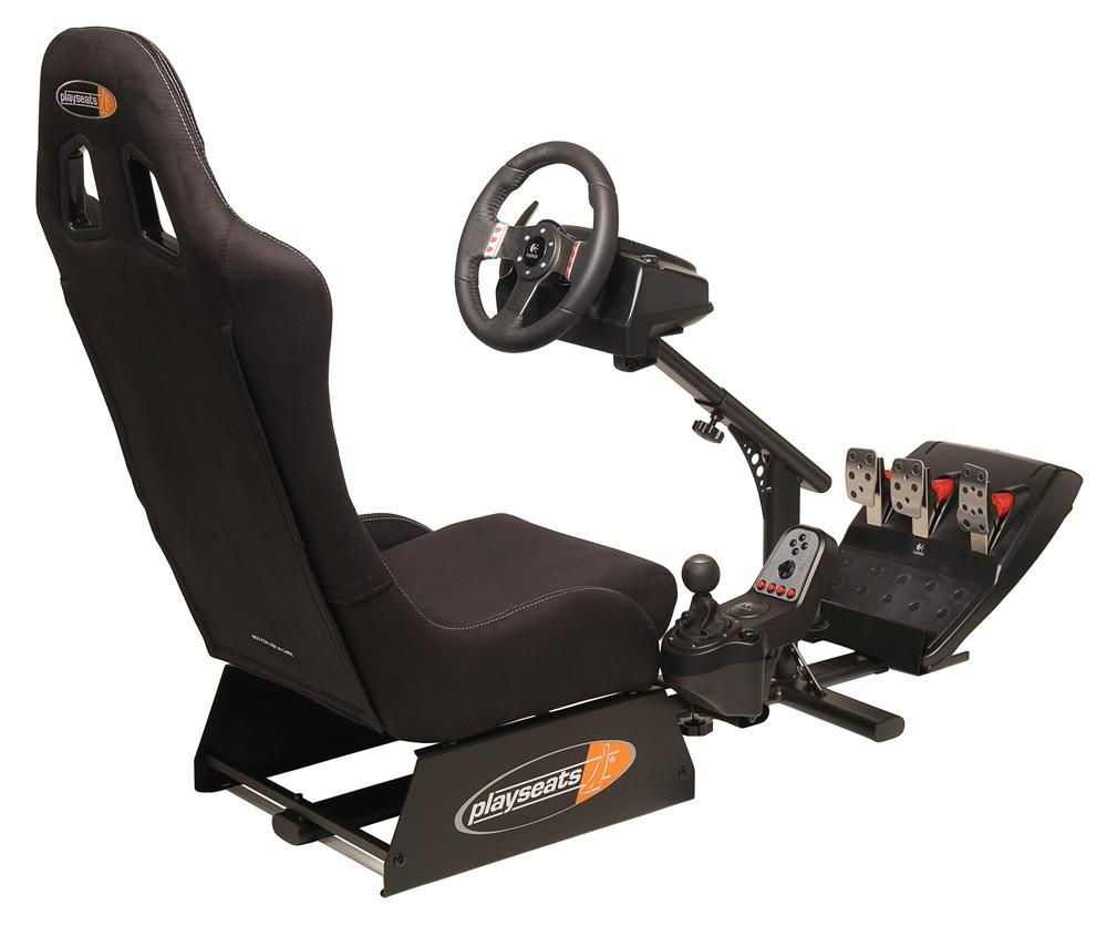 Playseats Evolution Black Gaming Seat Logitech G27