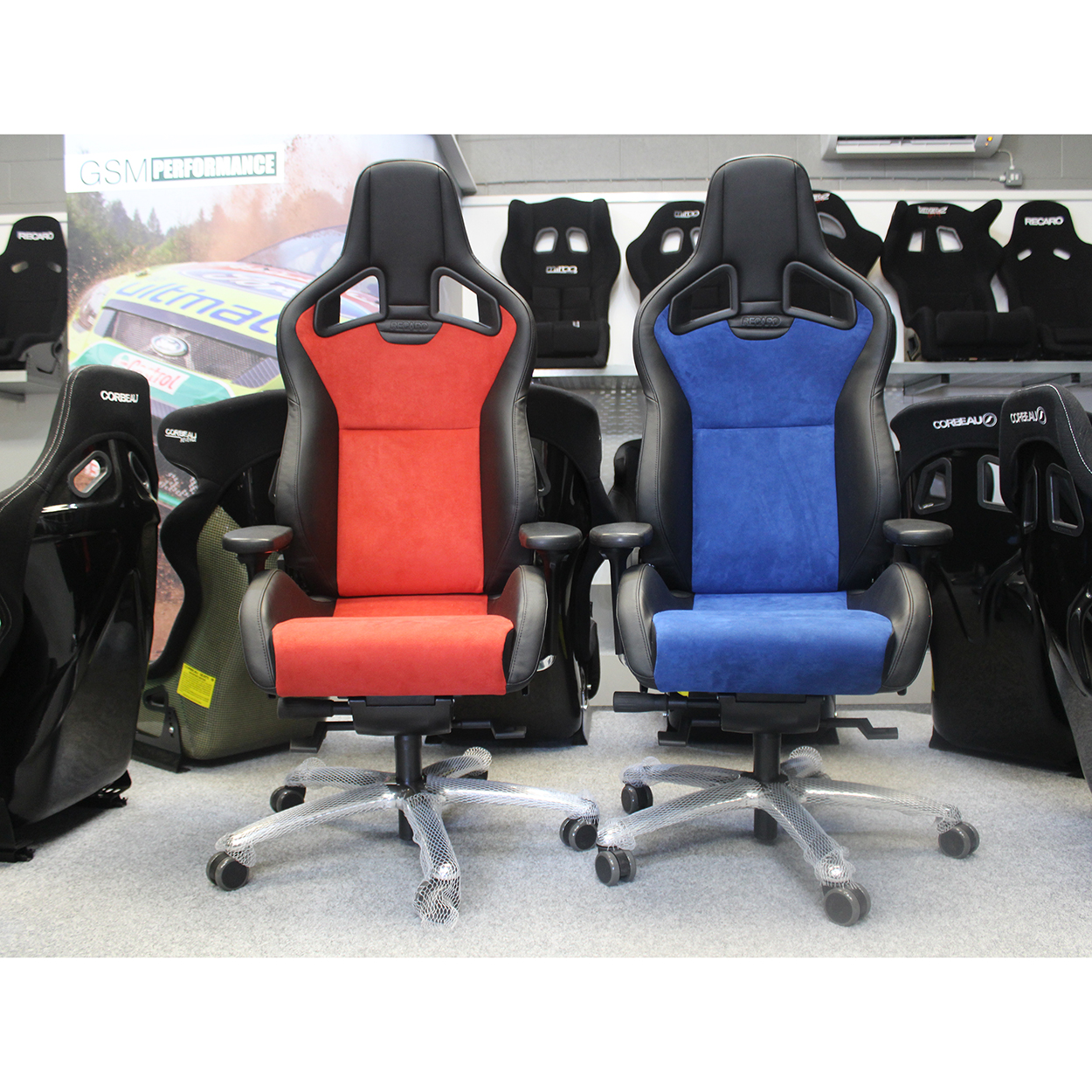 recaro seats - sportster cs office sport seat - gsm sport seats