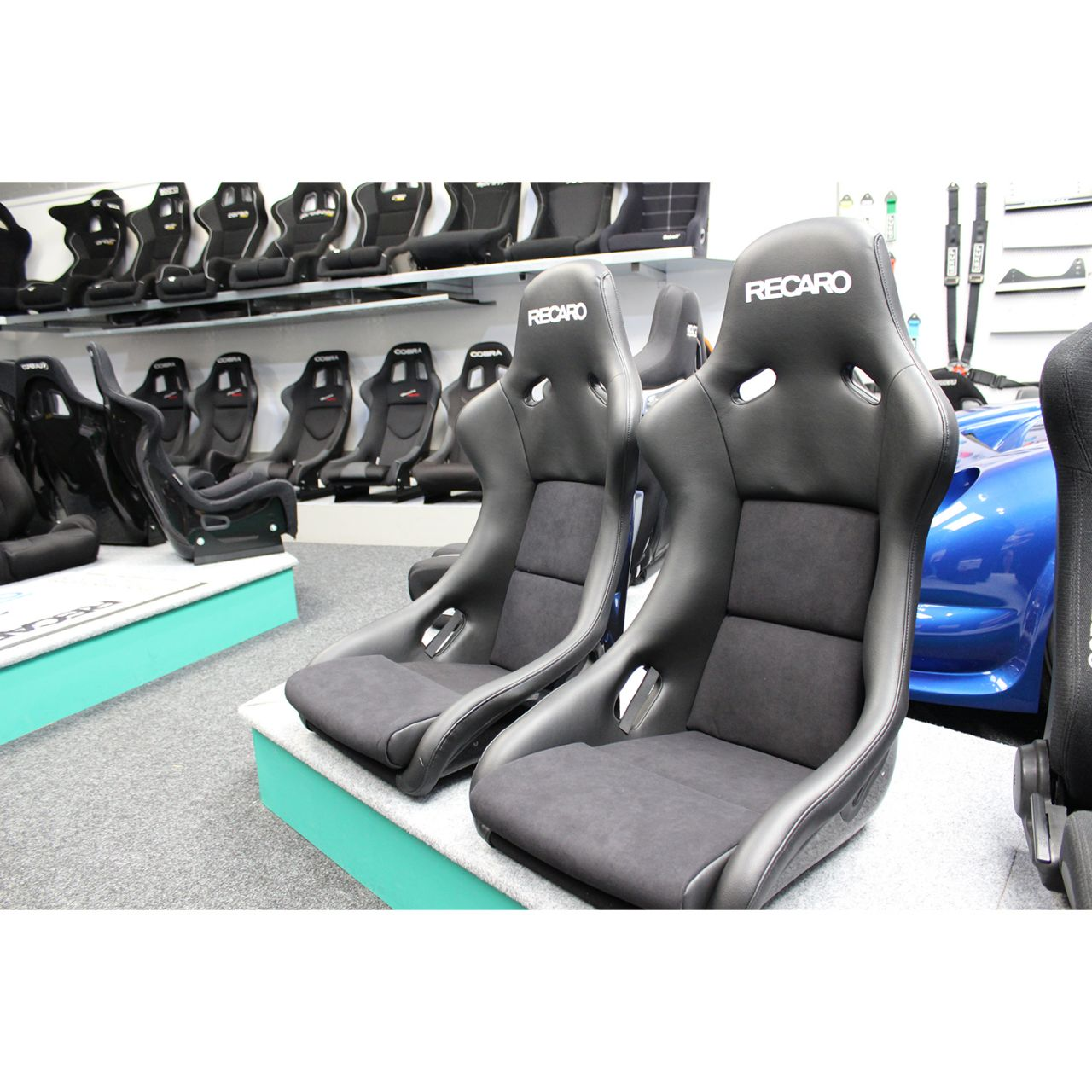 Recaro Seats Pole Position With Abe Bucket Seat Gsm