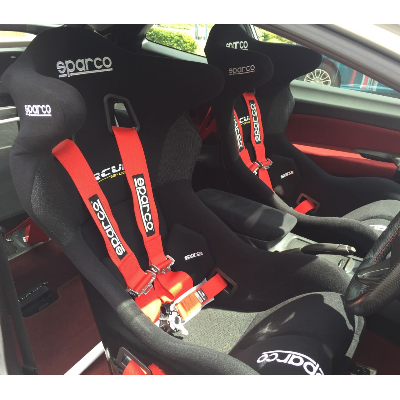 Sparco Circuit II LF FIA Motorsport Bucket Seat