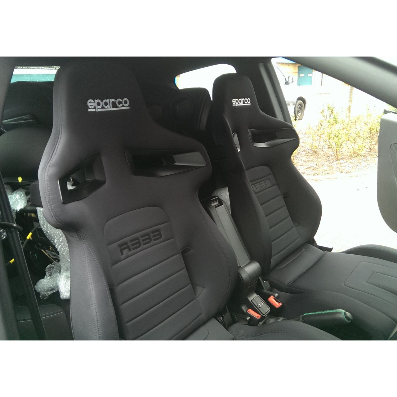 Sparco R333 Reclining Sport Seat