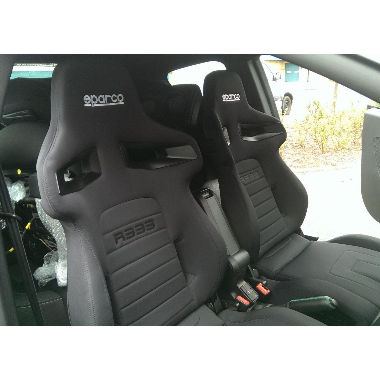 Sparco R333 Reclining Sport Seat Gsm Seats Alfa Romeo