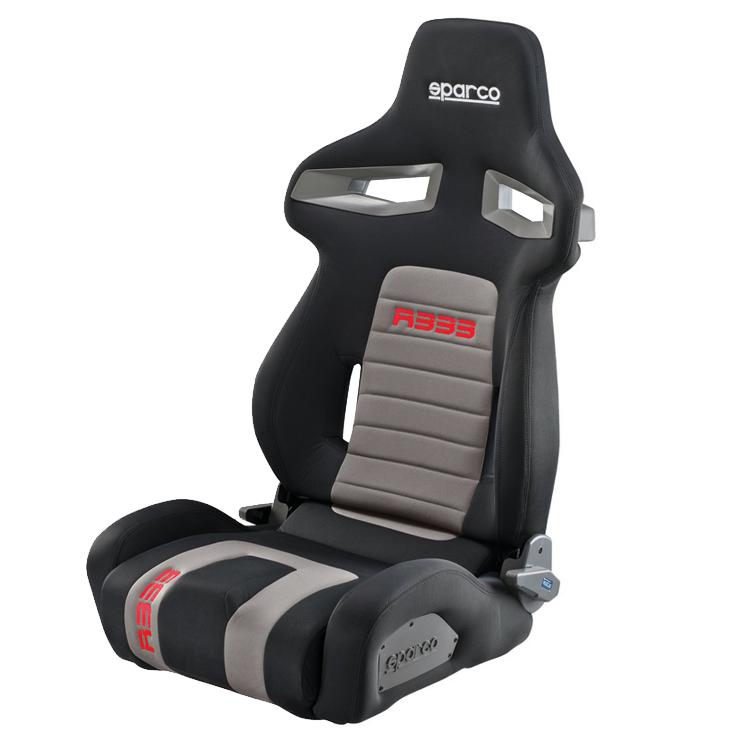 sparco r333 reclining sport seat gsm sport seats. Black Bedroom Furniture Sets. Home Design Ideas