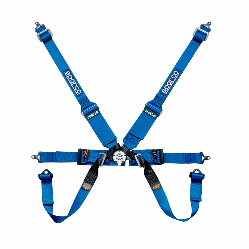 Sparco 5 Point Harness on Sparco Fia 6 Point Racing Harness