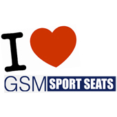 Buy with confidence from GSM Sport Seats