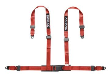 Sparco 4 Point Clip In Safety Harness