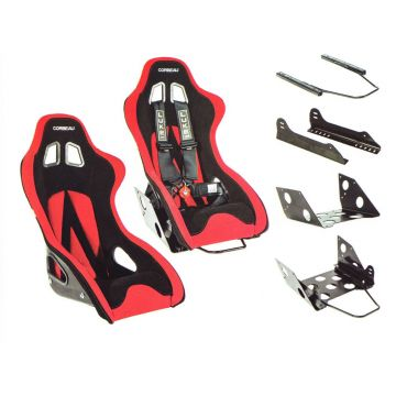 Corbeau Ariel Atom Bucket Seat Package