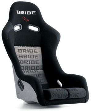 Bride Vios III FRP Low Max Bucket Seat and Seat Rail Set