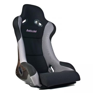 Buddy Club Racing Spec Black/Grey Bucket Seat