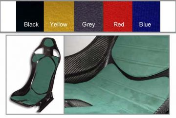 Reverie Seats - Brushed nylon GT, X and XR Wide Seat Cushion Trim Kit