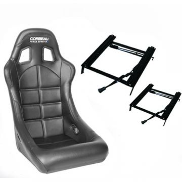 Corbeau Forza Sport Seat with Classic Mini Fitting Kit