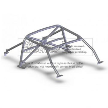 Safety Devices Lotus Elise S1 6 Point Bolt-In Roll Cage