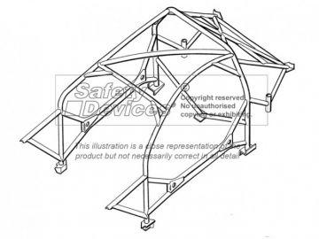 Safety Devices Ford Puma Weld-In Roll Cages