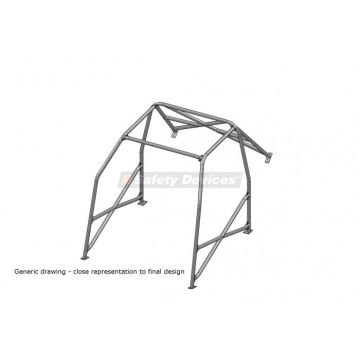 Safety Devices Ford Puma 6 Point Bolt-In Roll Cage