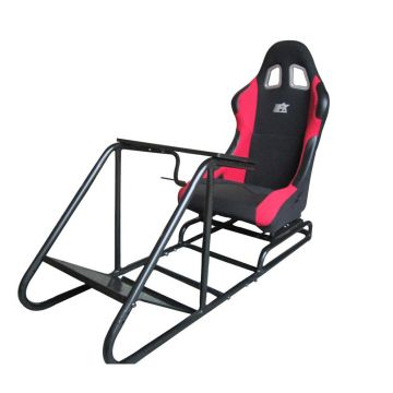 FK Automotive Red Racing Seat Driving Simulator