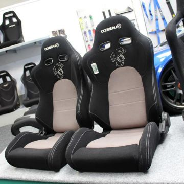 Corbeau RS1 Fiat 500 Edition Reclining Sport Seat